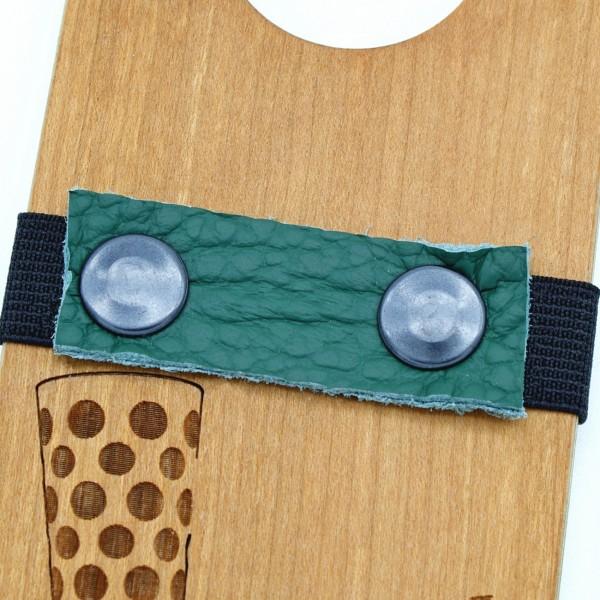 Lederband - Waldgrün