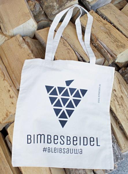 Bimbesbeidel - Deine Baumwolltasche #bleibsauwa